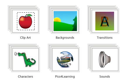 Clip art library